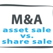 sales of assets or shares